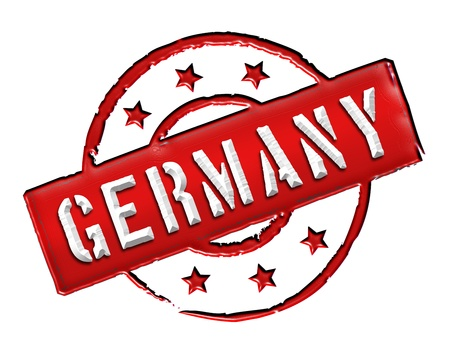 Sign and stamp named Germany for your presentation, for websites and many more Stock Photo - 13313654