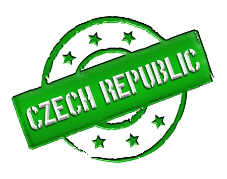 stempel: Sign and stamp named Czech Republic for your presentation, for websites and many more.