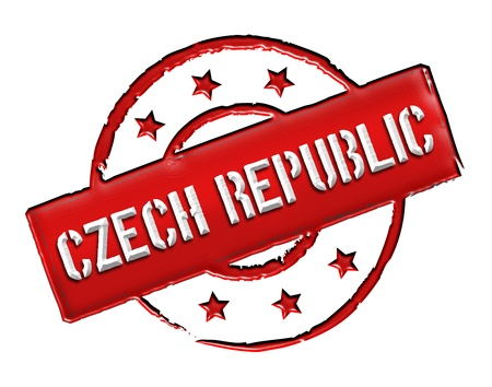 Sign and stamp named Czech Republic for your presentation, for websites and many more. Stock Photo - 13318981