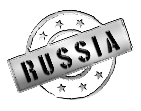 Sign and stamp named RUSSIA for your presentation, for websites and many more Stock Photo - 13328930