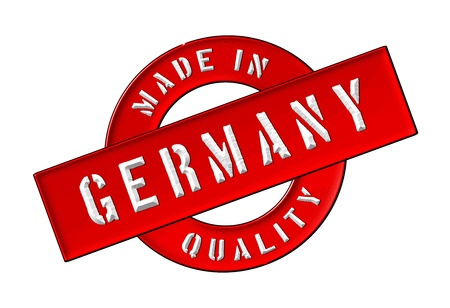 Made in Germany - Quality seal for your website, web, presentation photo