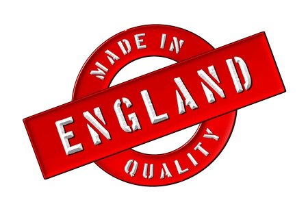 siegel: Made in England - Quality seal for your website, web, presentation