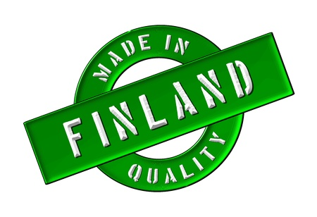 made in finland: Made in Finland - Quality seal for your website, web, presentation
