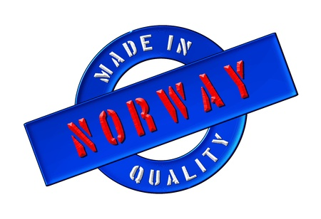 Made in Norway - Quality seal for your website, web, presentation photo