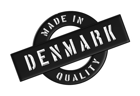 siegel: Made in Denmark - Quality seal for your website, web, presentation