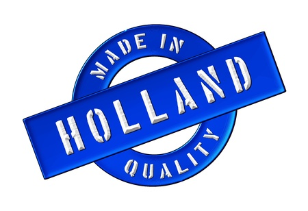 Made in Holland - Quality seal for your website, web, presentation photo