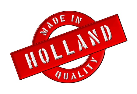made in netherlands: Made in Holland - Quality seal for your website, web, presentation