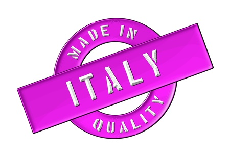 Made in Italy - Quality seal for your website, web, presentation photo
