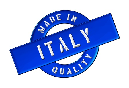 Made in Italy - Quality seal for your website, web, presentation Stock Photo - 13352541