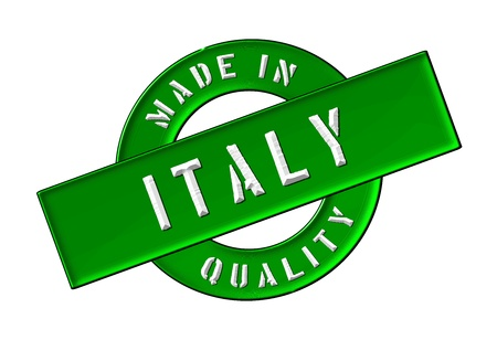 Made in Italy - Quality seal for your website, web, presentation