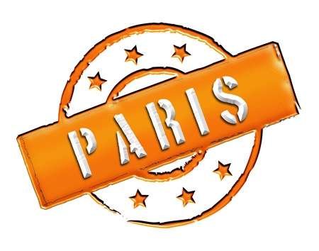 stempel: Sign and stamp for your presentation, for websites and many more named PARIS