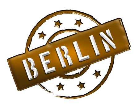 wichtig: Sign and stamp for your presentation, for websites and many more named BERLIN