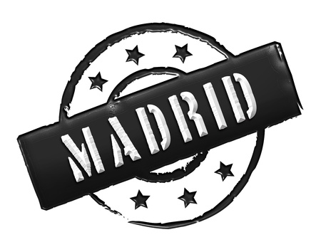 stempel: Sign and stamp for your presentation, for websites and many more named Madrid