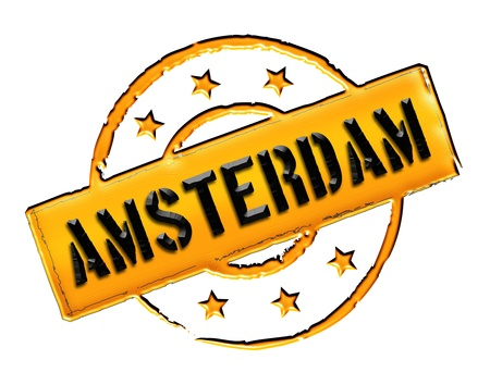 wichtig: Sign and stamp for your presentation, for websites and many more named Amsterdam