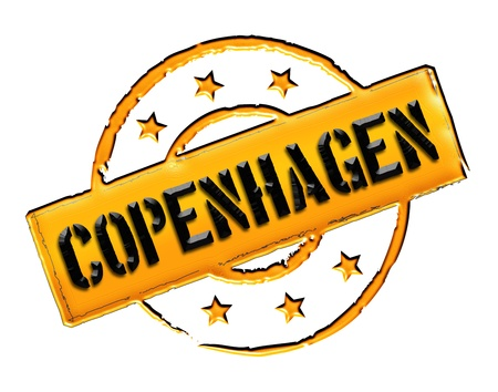 stempel: Sign and stamp for your presentation, for websites and many more named Copenhagen