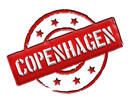 achtung: Sign and stamp for your presentation, for websites and many more named Copenhagen
