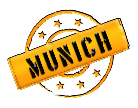 wichtig: Sign and stamp for your presentation, for websites and many more named München