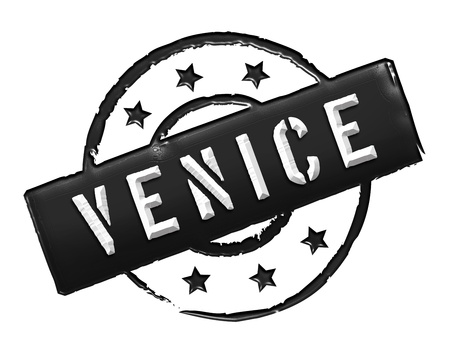 Sign and stamp for your presentation, for websites and many more named Venice photo