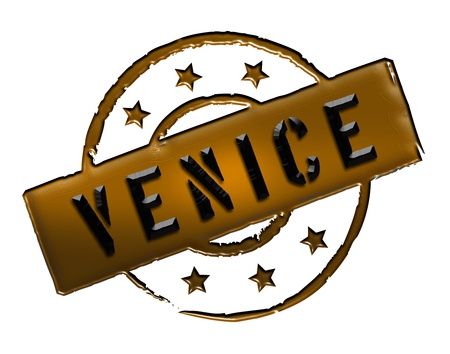 Sign and stamp for your presentation, for websites and many more named Venice