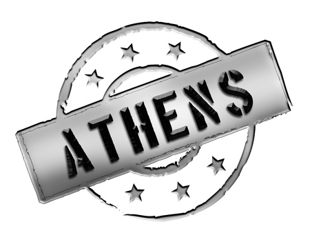 wichtig: Sign and stamp for your presentation, for websites and many more named Athens