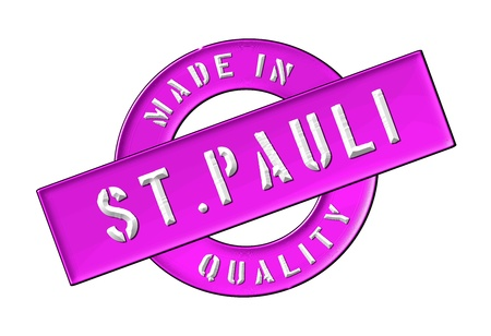 Made in St. Pauli - Quality seal for your website, web, presentation