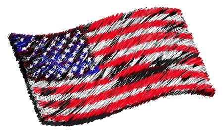 als: USA - The beloved country as a symbolic representation as heart - Das geliebte Land als symbolische Darstellung als Herz