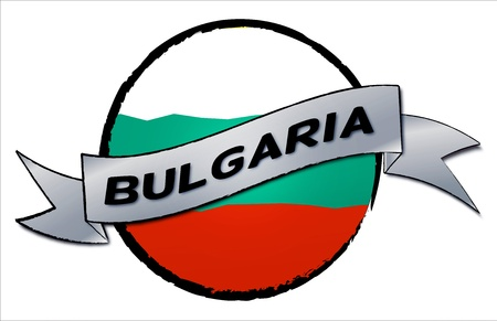Bulgaria - your country shown as illustrated banner for your presentation or as button Stock Photo - 13583552