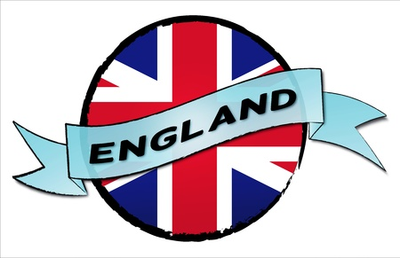wembley: United Kingdom - your country shown as illustrated banner for your presentation or as button... Stock Photo