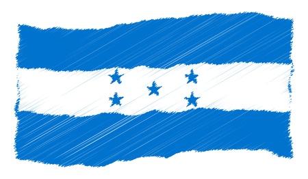 als: Honduras - The beloved country as a symbolic representation as heart - Das geliebte Land als symbolische Darstellung als Herz