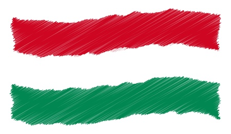 Hungary - The beloved country as a symbolic representation as heart - Das geliebte Land als symbolische Darstellung als Herz