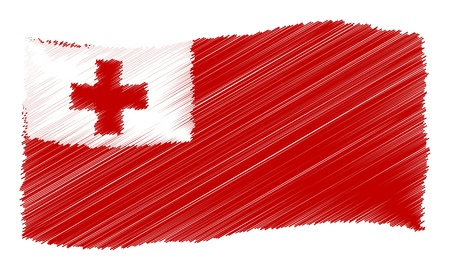 Tonga - The beloved country as a symbolic representation Stock Photo