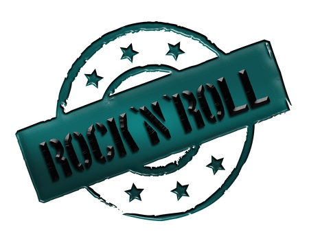 stempel: Sign and stamp for your presentation, for websites and many more named RocknRoll