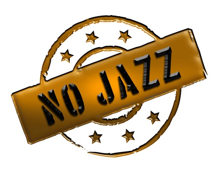 wichtig: Sign and stamp for your presentation, for websites and many more named No Jazz