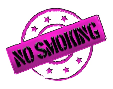 wichtig: Sign and stamp for your presentation, for websites and many more named No Smoking
