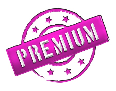 etikett: Sign and stamp for your presentation, for websites and many more named PREMIUM Stock Photo
