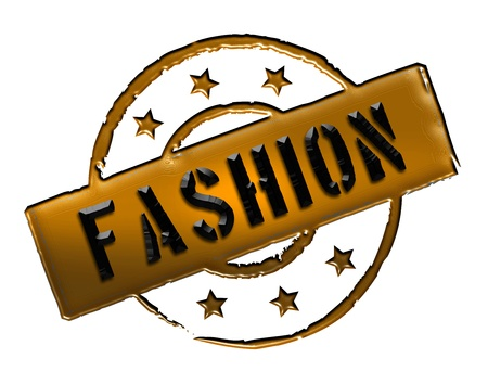 modell: Sign and stamp for your presentation, for websites and many more named FASHION