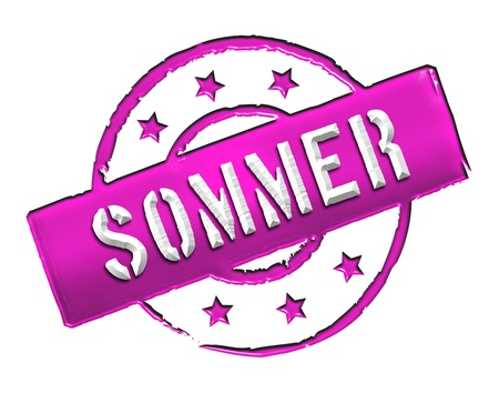sommer: Sign and stamp for your presentation, for websites and many more named SOMMER