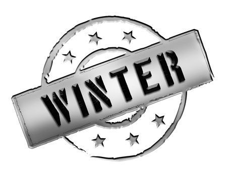 wichtig: Sign and stamp for your presentation, for websites and many more named WINTER