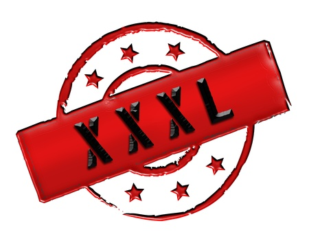 wichtig: Sign, symbol, stamp or icon for your presentation, for websites and many more named XXXL