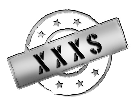 xxxl: Sign, symbol, stamp or icon for your presentation, for websites and many more named XXXS