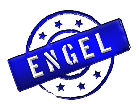 etikett: Sign, symbol, stamp or icon for your presentation, for websites and many more named ENGEL Stock Photo