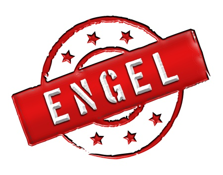 engel: Sign, symbol, stamp or icon for your presentation, for websites and many more named ENGEL Stock Photo
