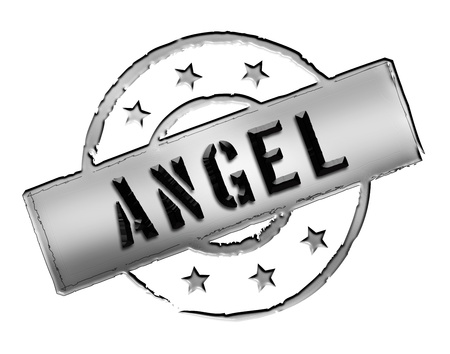 etikett: Sign, symbol, stamp or icon for your presentation, for websites and many more named ANGEL