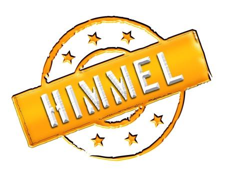 Sign, symbol, stamp or icon for your presentation, for websites and many more named HIMMEL