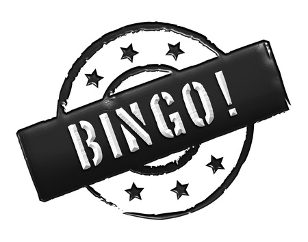 Sign, symbol, stamp or icon for your presentation, for websites and many more named BINGO!