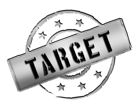 Sign, symbol, stamp or icon for your presentation, for websites and many more named TARGET photo