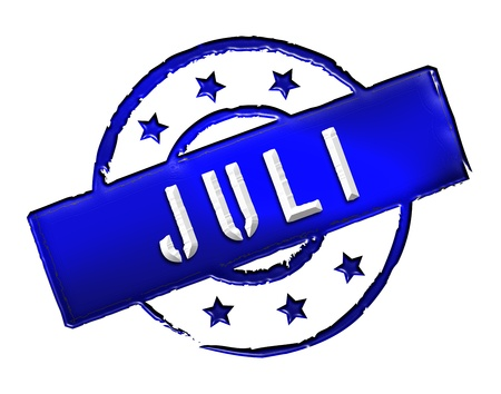 stempel: Sign, symbol, stamp or icon for your presentation, for websites and many more named JULI