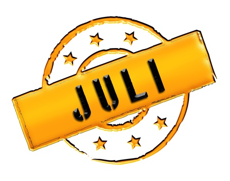wichtig: Sign, symbol, stamp or icon for your presentation, for websites and many more named JULI