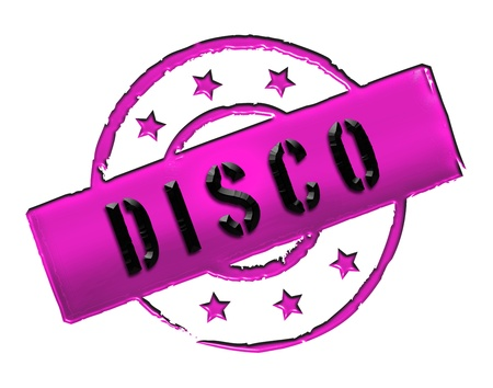 stempel: Sign, symbol, stamp or icon for your presentation, for websites and many more named DISCO
