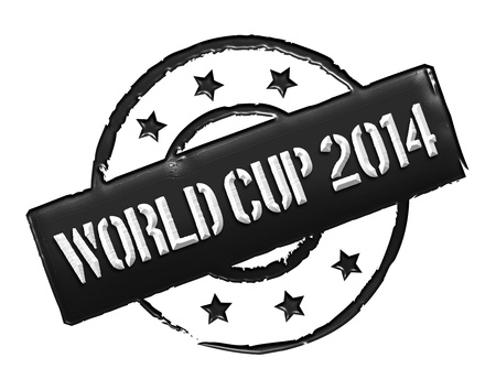 Sign, symbol, stamp or icon for your presentation, for websites and many more named World Cup 2014 photo